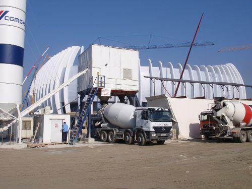 Betonara Kabag - Gradilište Arena